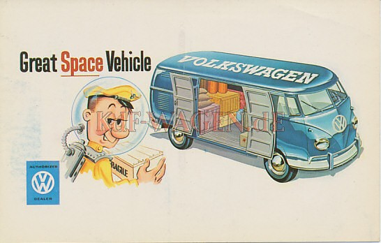 VW - 1961 - Great Space Vehicle - [8274]-1
