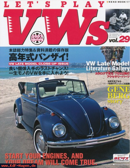 VW - LET'S PLAY VWs 29 - 978-4777005178 - [8305]-1