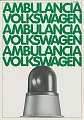 VW - 1981 - Ambulancia Volkswagen - 45256 9/81 - [8340]