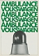 VW brochures - Ambulance Volkswagen,1981,45256 9/81