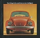 VW Prospekte - Few things in the world are so very intelligent.,1974,42.059 02/74