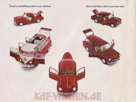 VW - 1966 - Thers´s something new in our old line - 33-00-65011 - [8385]-1