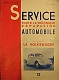 VW Bücher - SERVICE TOUTE TECHNIQUE REPARATION AUTOMOBILE - La Volkswagen,1955