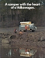 VW - 1973 - The camper with the heart of the Volkswagen. - [8414]