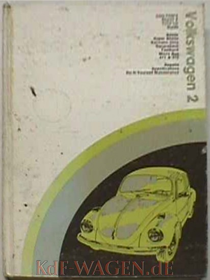 VW - Chilton's repair and tune up guide, Volkswagen 1970 to 1973 - [8435]-1