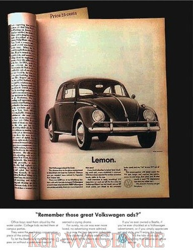 VW - Remember those great Volkswagen ads ? - Alfredo Marcantonio, David Abbott, John O'Driscoll - 978-1905641031 - [8440]-1