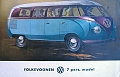 VW - 1953 - Folkevognen 7 pers. model - [8447]
