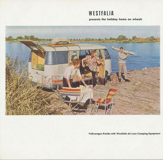 VW - 1956 - Westfalia presents the holiday home on wheels - [8599]-1