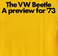 VW - 1972 - The VW Beetle. A preview for ´73 - 24021.831.19012.09  8/72 - [8741]