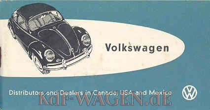VW - 1959 - Volkswagen Distributor and Dealers in Canada, USA and Mexico - [8754]-1
