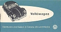 VW - 1959 - Volkswagen Distributor and Dealers in Canada, USA and Mexico - [8754]