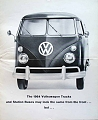 VW - 1964 - The 1964 VW Trucks and Station Buses may look the same from the front ... but ... - [8796]