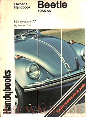 VW - Owner´s Handbook Beetle. 1954 on - Kenneth Ball - [8821]-1