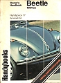 VW - Owner´s Handbook Beetle. 1954 on - Kenneth Ball - [8821]
