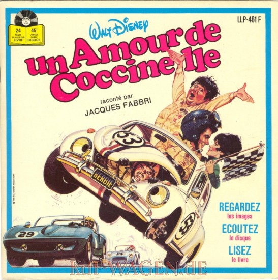 VW - Un amour de coccinelle - Walt Disney Productions - [8860]-1