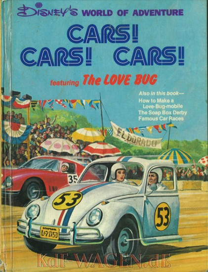 VW - Cars! Cars! Cars! Featuring The Love Bug - Disney's World of Adventure - [8880]-1