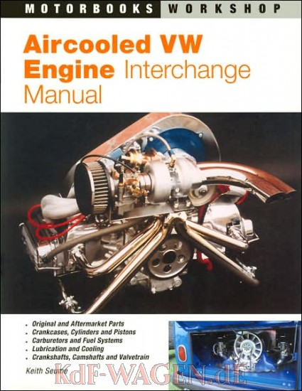 VW - Aircooled VW Engine Interchange Manual - Keith Seume - 9780760303146 - [8953]-1