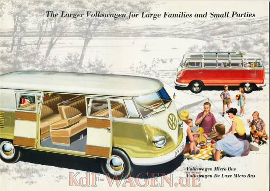 VW - 1958 - The large Volkswagen for large families and small parties - w 2/75/8.58 - [9018]-1