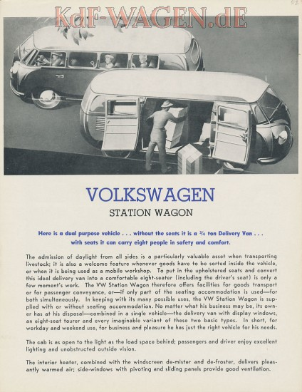 VW - 1953 - Volkswagen Station Wagon - [9020]-1