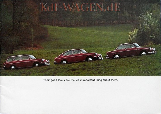 VW - 1968 - Their good looks are the least important about them. - 151.327.29 8/68 - [9029]-1