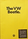 VW brochures - The VW Beetle.,1974,391/119.201.25  1/74