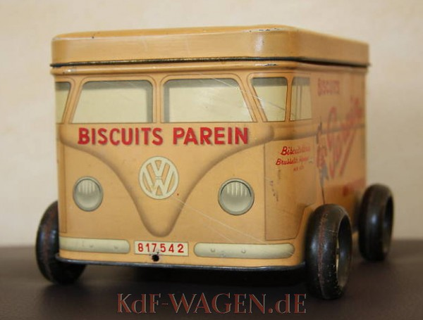 VW - 1954 - Biscuits Parein - Cookie Box - [9076]-1