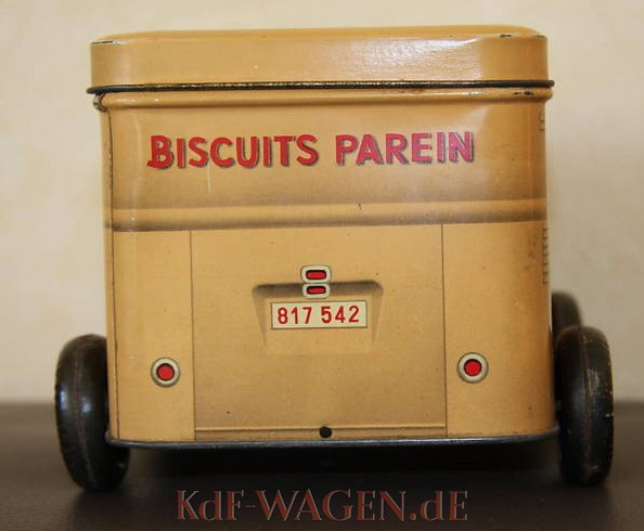 VW - 1954 - Biscuits Parein - Cookie Box - [9076]-2