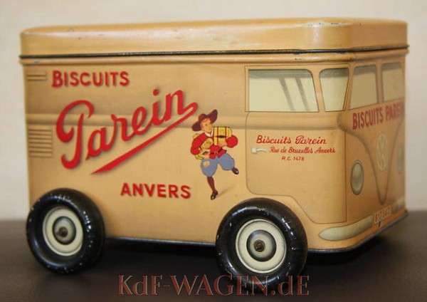 VW - 1954 - Biscuits Parein - Cookie Box - [9076]-3
