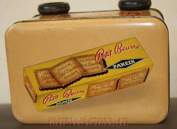 VW - 1954 - Biscuits Parein - Cookie Box - [9076]-4