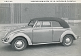 VW - 1955 - Beetle Convertible - [9232]