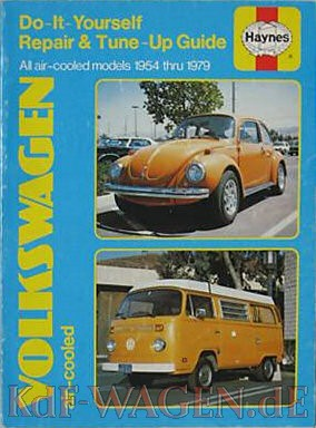 VW - Do-It-Yourself Repair & Tune-Up Guide.  All air cooled models 1954 thru 1979. - [9262]-1
