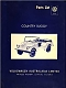 VW workshop publ. - Country Buggy Parts List,1970