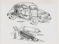 VW - 1951 - Beetle, Split, VW press pictures - from 1951 press kit - [9408]