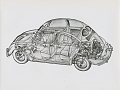 VW - 1951 - Beetle, Split, VW press pictures - from 1951 press kit - [9410]