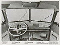 VW - 1959 - Bus, T1, VW press pictures - VW Bus Armaturenbrett / dashboard - [9499]