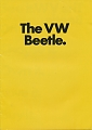 VW - 1972 - The VW Beetle. - 24021.831.19012.09  8/72 - [9579]