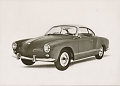 VW - 1963 - Karmann Ghia 14, VW press pictures - IAA 1963 - [9622]