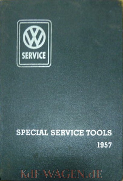 VW - 1957 - Special Service Tools 1957 - [9811]-1