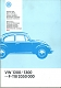 VW workshop publ. - Bildkatalog VW1200 / 1300 --F-118 2050 000,1993,000.7340.80.89