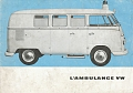 VW - 1962 - L' Ambulance VW - [9978]