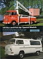 VW - vw bus and pick-up : special models - david eccles michael steinke - - - [10271]