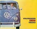 VW - 1963 - Volkswagen 1500 trucks - [10357]