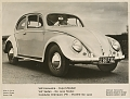 VW - 1953 - Beetle, Oval, VW press pictures - [10400]