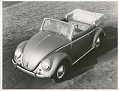 VW - 1953 - Beetle Convertible, VW press pictures - [10401]