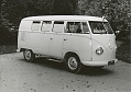VW - 1958 - Bus, T1, VW press pictures - VW Krankenwagen - [10427]
