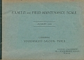 VW - 1948 - F.A.M.T.O. and Field Maintenance Scale - [10445]