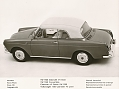 VW - 1961 - VW 1500/1600, VW press pictures - Typ 3 Carbio geschlossen - [10447]