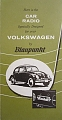 VW - 1961 - Blaupunkt. Here si the car radio ... - [10479]