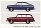 VW brochures - Farbenmuster VW 1600 TL und VW Variant 1600,1965,153.211.00  8/65