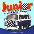 VW - Junior the little blue campervan - M.J. Wadey & E.J. Kite - [10651]